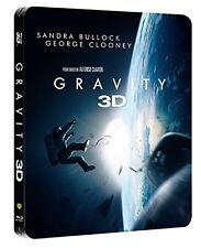 GRAVITY 3D (BLU-RAY 3D + BLU-RAY) STEELBOOK LIMITED EDITION