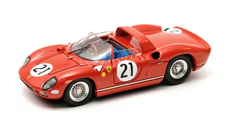 Ferrari 275 P  21 42th Le Mans 1964 Parkes   Scarfiotti 1 43 Model 0181