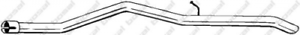 Abgasrohr für Abgasanlage Hinterachse BOSAL 851-157