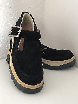 * Neu * Buckle My Shoe Schuhe - Gr. 32 - Blau - Leder - Made In Italy
