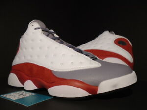 pretty nice cabcf 6de13 Image is loading Nike-Air-Jordan-XIII-13-Retro-WHITE-BLACK-