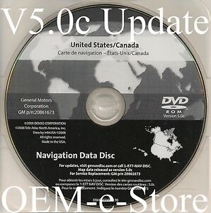 2006 2007 2008 2009 2010 2011 Cadillac DTS Navigation DVD Map Disc ...