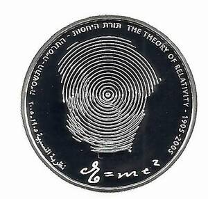 Israel-2005-Albert-Einstein-Relativity-Theory-100-Years-Proof-Silver-Coin-2-nis