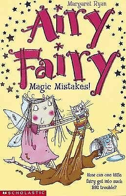 """""""AS NEW"""" Magic Mistakes! (Airy Fairy), Ryan, Margaret, Book"""