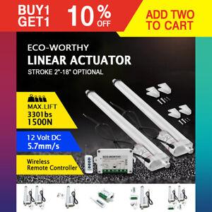 "16/"" 12V 1500N Motor Actuador lineal para la industria eléctrica médica AUTO LIFT"