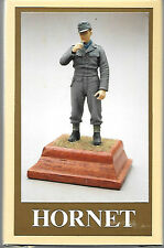 Hornet German Soldier M44 Uniform WW II Figure White Metal 1/35 Scale #GH6