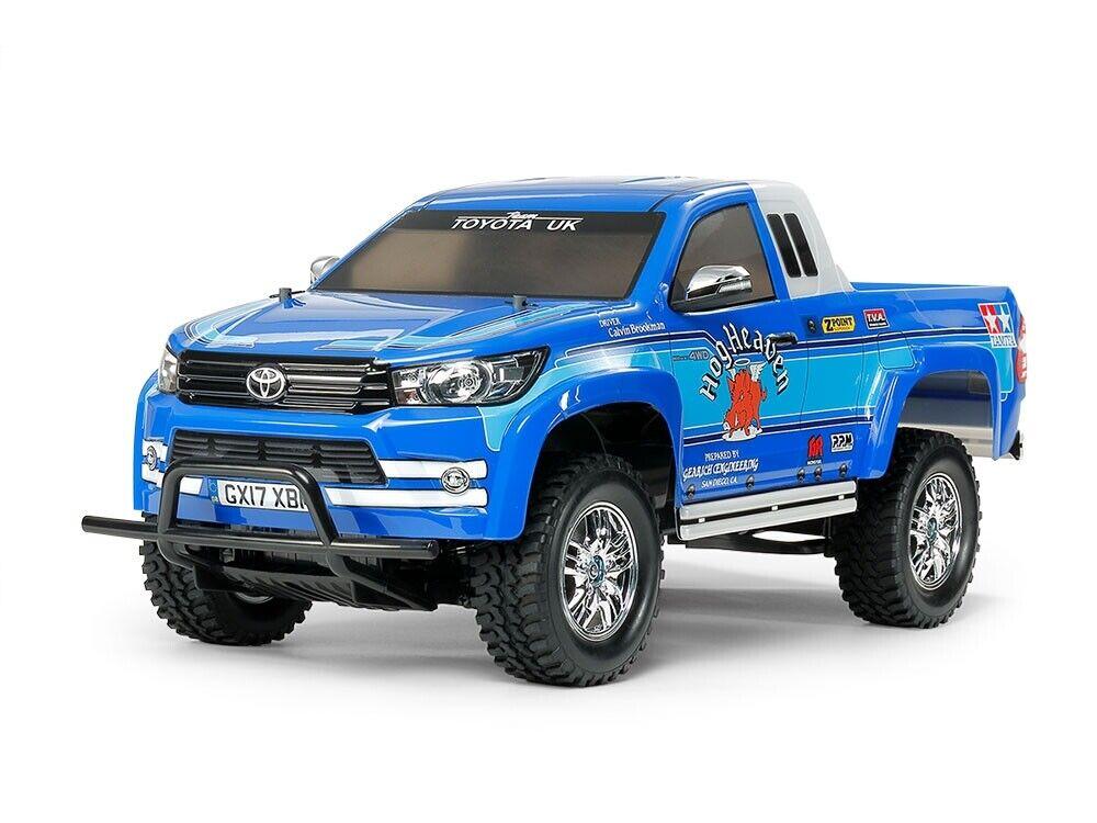 58663 Tamiya CC-01 1 10th Toyota Hilux Extra Cabina RC Coche Kit y ESC Nuevo