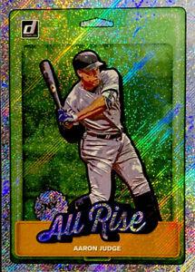 "🔥 2019 Aaron Judge Donruss NICKNAMES ""ALL RISE"" RAPTURE Holo Foil #N1 Yankees"