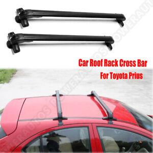 Car Roof Rack Adjustable Aluminum Roof Rack Cross Bar For Toyota Prius 2002 2016 Ebay