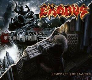 Exodus-Tempo-Of-The-Damned-Shovel-Headed-Kill-Machine-New-CD-UK