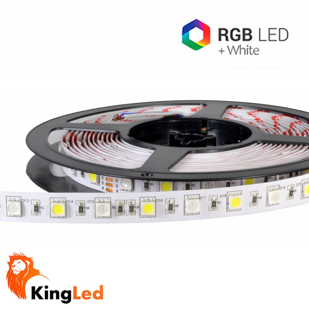 Kingled Streifen Streifen Streifen LED 24v 300SMD5050 RGB + CW 6000K 72W Spule 5m raw IP20 1120 2d49b2