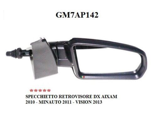 2013 GM7AP142 SPECCHIETTO RESTROVISORE ESTERNO DESTRO AIXAM 2010-2011
