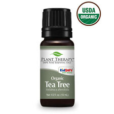 Organic Tea Tree (Melaleuca) Essential Oil 10 ml (1/3 oz) 100% Pure, Therapeutic