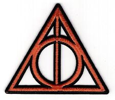 """Harry Potter Deathly Hollows Logo Patch 3 1/2"""""""