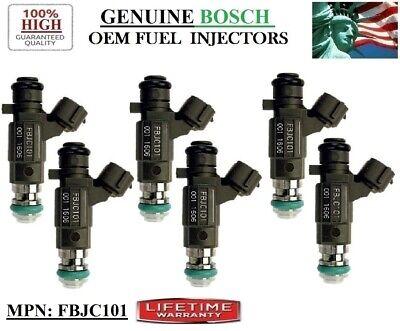 8 BOSCH FUEL INJECTORS 2003-2010 INFINITI Q45 M45 FX45 4.5L V8 P# FBJC-101 OEM
