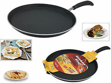 DOSA PAN PANCAKE OMELETTE FRY PAN CHAPATTI TAWA KITCHEN COOKING NON STICK 24CM