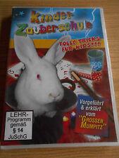 DVD - Kinder Zauberschule - Tolle Tricks für Kids - Vorgeführt & erklärt - NEU