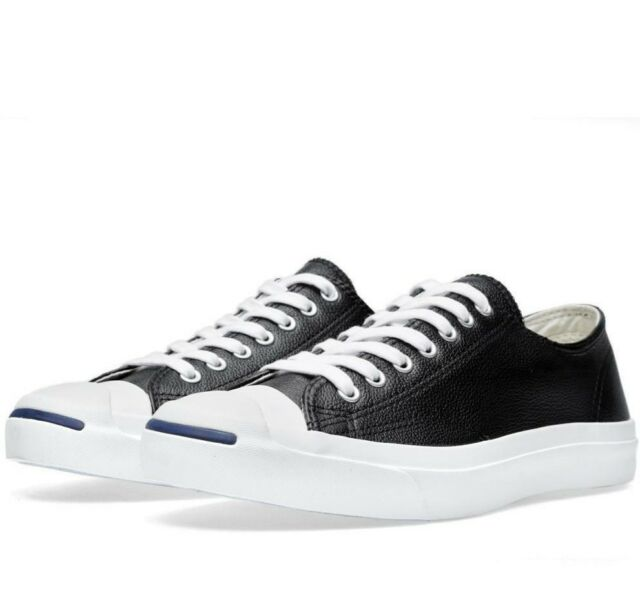 15f09eb82339 Converse Jack Purcell Size 11.5 M Black White Plaid Low SNEAKERS ...