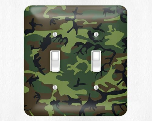 Cool Camouflage  Cammo Metal Switch Light Cover Plates