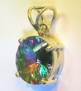 8-Ct-QUARTZ-ROUND-Cut-PENDANT-ASTRAL-BEAUTY-GEMSTONE