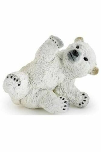 Papo Playing Polar Bear Cub Toy arctic animal wildlife figure 50143 NEW