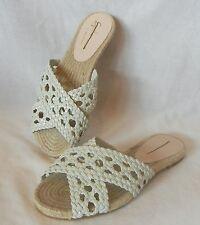 Guilhermina Women's Aliciana Braided Leather Sandal Slides Retail $110 size 6