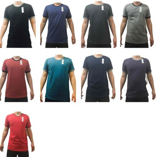 Lot Of 9 Pieces Logan /& Martin Men/'s Short Sleeve T-Shirt 100/% Cotton M-2XL