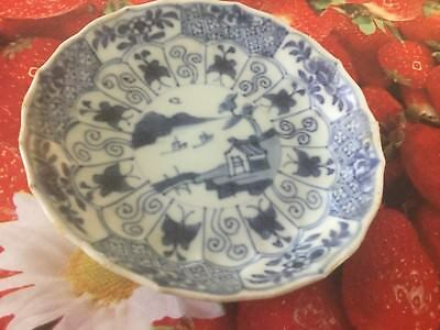Asian/oriental Antiques Hospitable Ca Mau Shipwreck Panel & Trellis Saucer C1725 19182 To Be Highly Praised And Appreciated By The Consuming Public