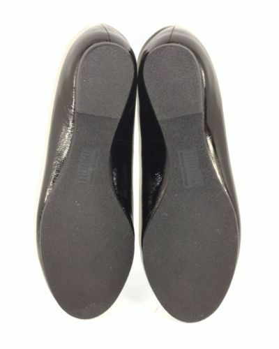 Munro Women's Black Patent Leather Loafers Loafers Loafers 9911 Size 9.5N 334942