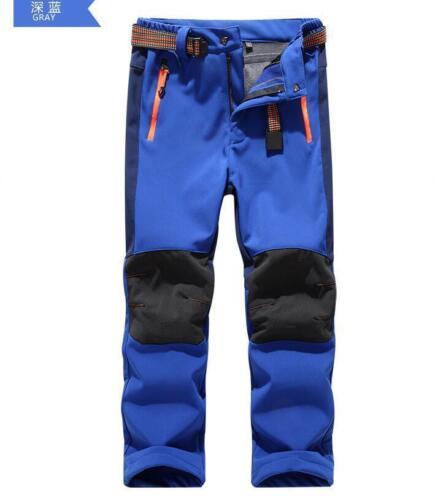 Magic Kids Child Warm Fleece Pants Boy Girls Waterproof Hiking Outdoor Trousers