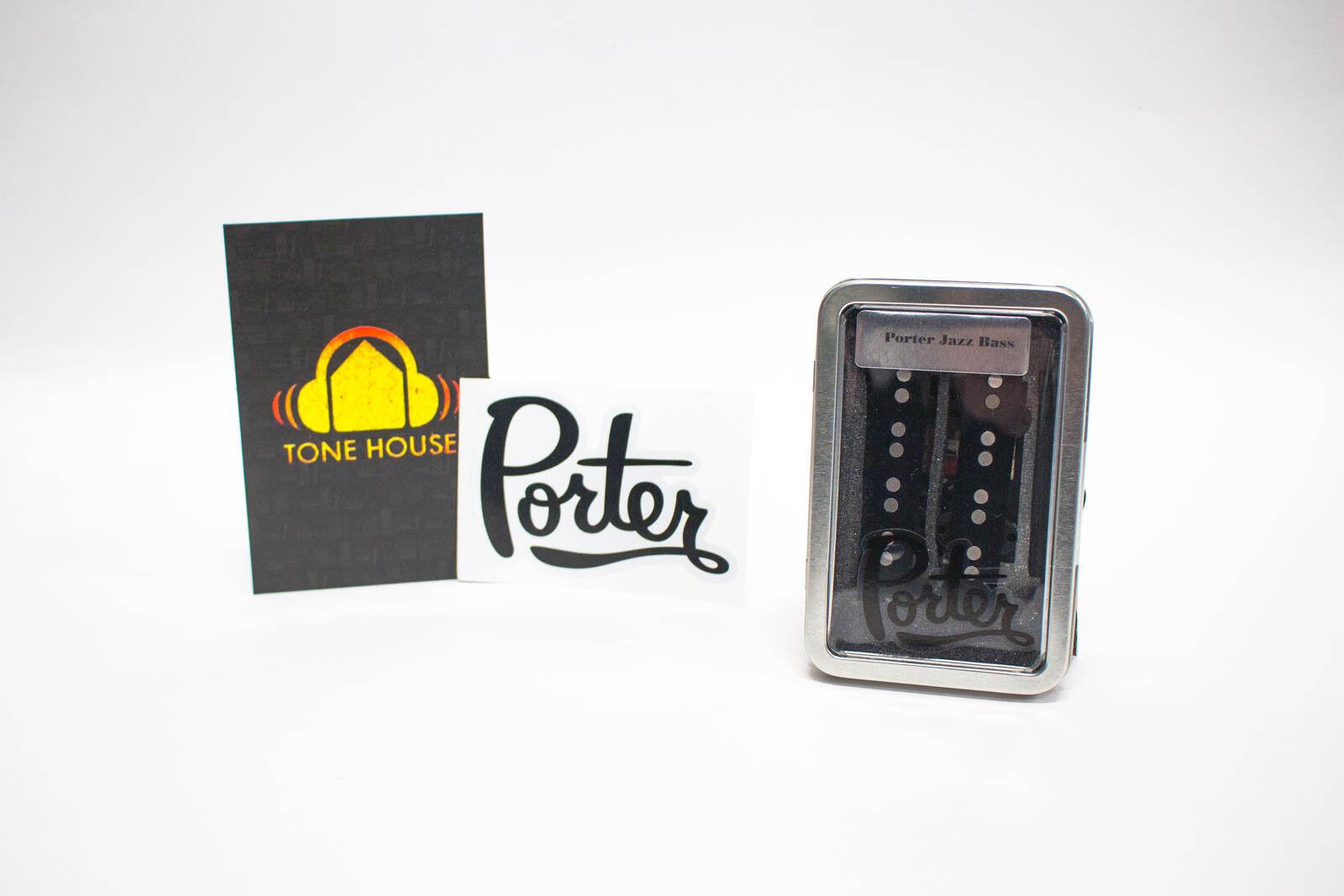 Porter Pickups Jazz Bass Set for Electric 4 String Bass