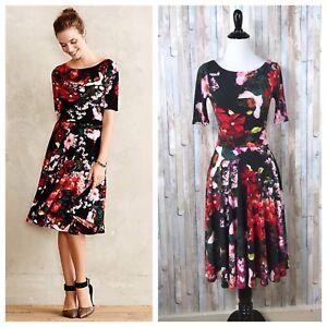Bright /& Beautiful Bird Print Flared Dress