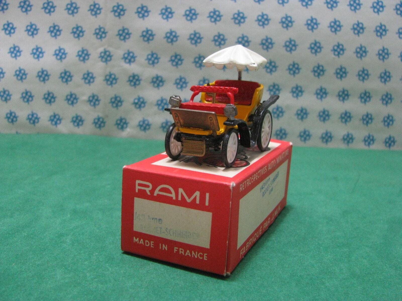 Vintage Rami - Rochet - Schneider 1895 - 1 43 France