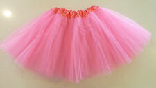 Women Adult Teen Organza Dance Tutu Ballet Pettiskirt Princess Party Skirt