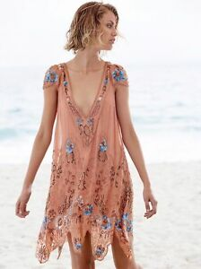 72ca7a6d14 Image is loading Free-People-Magic-Garden-Party-Dress-XS-500-