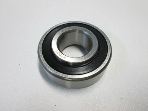 87503 Single Row Extended Race Ball Bearing Rubber Seal /& Metal Shield WJB