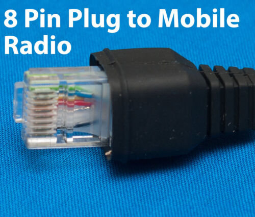 Replacement Microphone Cable 8pin for Kenwood TK-8160//8180//8100 TK-860//880//980