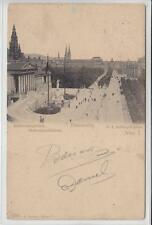 AK Wien I, Franzensring mit Parlament, 1905