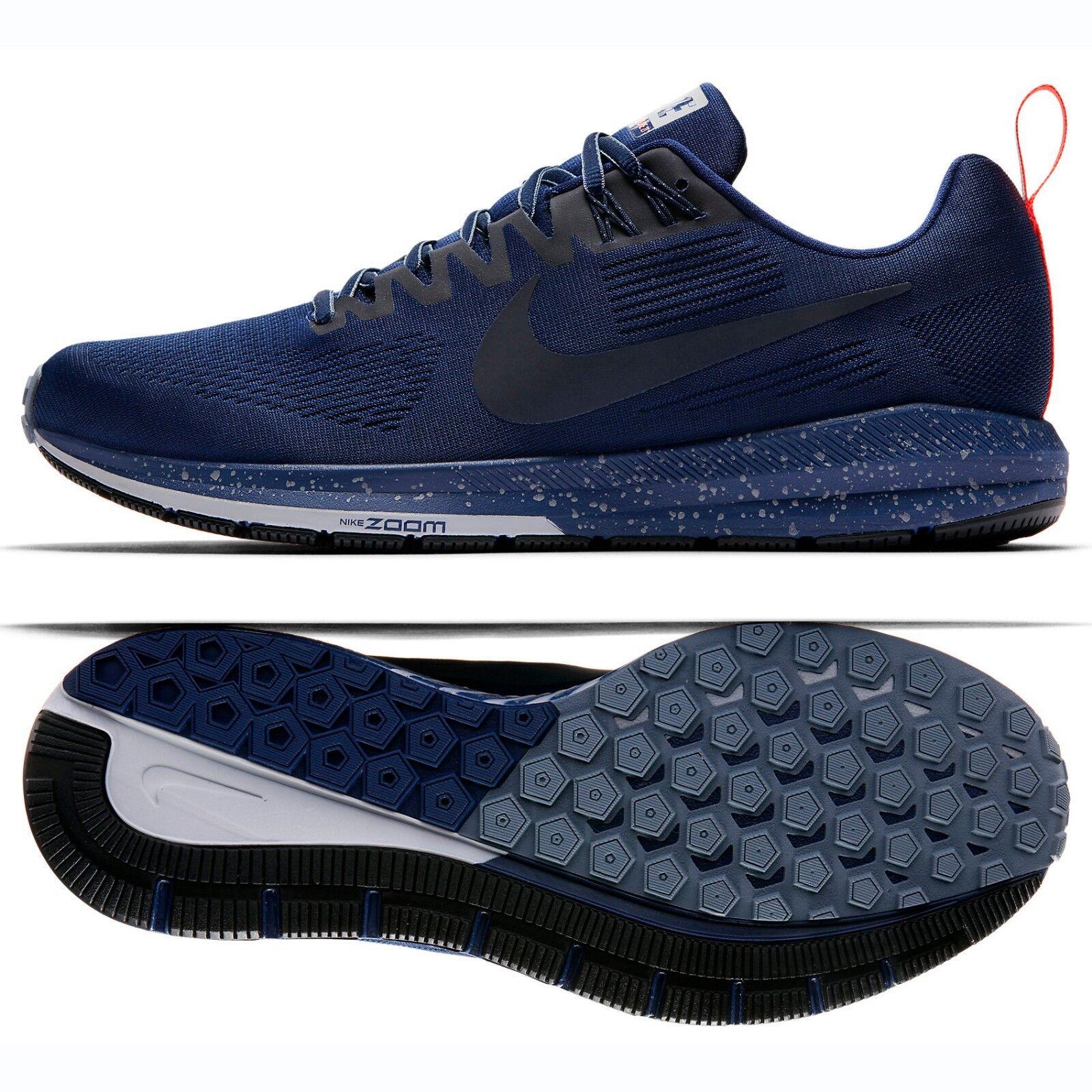 sale retailer 6560f d121a Nike Air Zoom Structure 21 escudo 907324-400 Binary Azul Azul Azul   gris  hombres