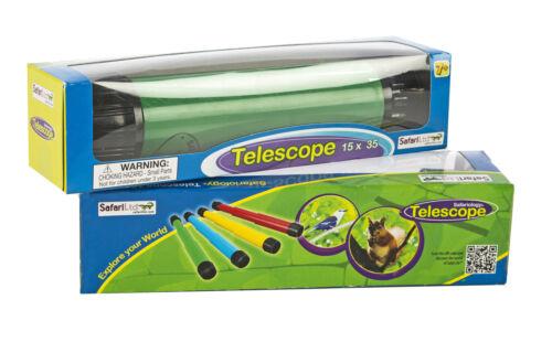 Safari Science Crisp Image Collapsible Telescope in Varying Colors f Safari Ltd