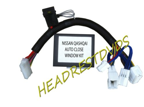 NIssan QASHQAI Auto Remote Locking Closes Window kit 2007 2013 Models ONLY