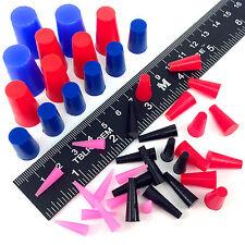 44 Piece High Temp Silicone Powder Coating Plug Kit Cerakote Paint Masking Set
