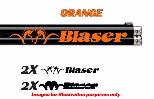 Adesivo decalcomania in vinile Blaser per Fucile//Fucile//Custodia//pistola al sicuro//Auto//BL5D