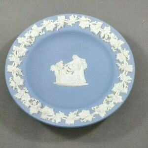 Details About Wedgwood Jasperware Trinket Dish Blue Cameo Ware Pin Ring Cupid As Oracle