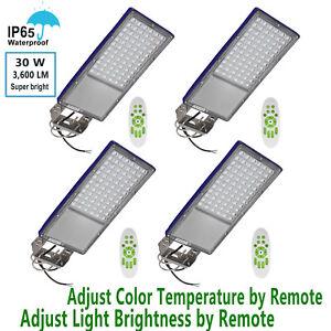 Image Is Loading 4x Led Street Barn Light 30w Outdoor Ip65