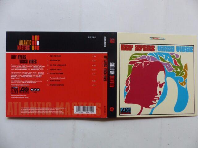 CD ALBUM ROY AYERS Virgo vibes 81227 3585 2
