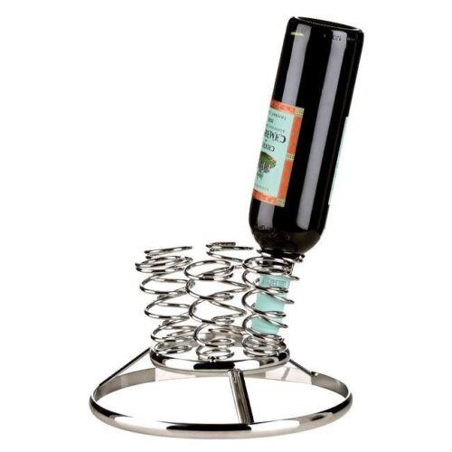 Nouvelle bouteille de turbulence 6 casier à vin bar cuisine chrome titulaire accessoires vin