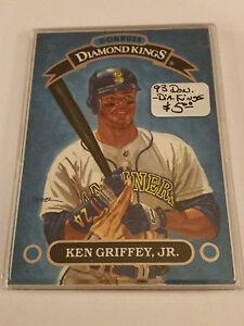 924ea45183 1993 Donruss Diamond Kings #DK1 Ken Griffey Jr. : Seattle Mariners ...