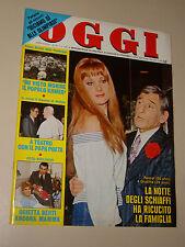 OGGI=1980/10=RENATO RASCEL=ORIETTA BERTI=SARA SIMEONI=OLIMPIA CARLISI SANREMO=