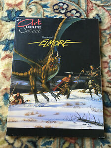 Art Fantastix Select 5 - The Art Of Elmore - Art Book Avec Des MéThodes Traditionnelles